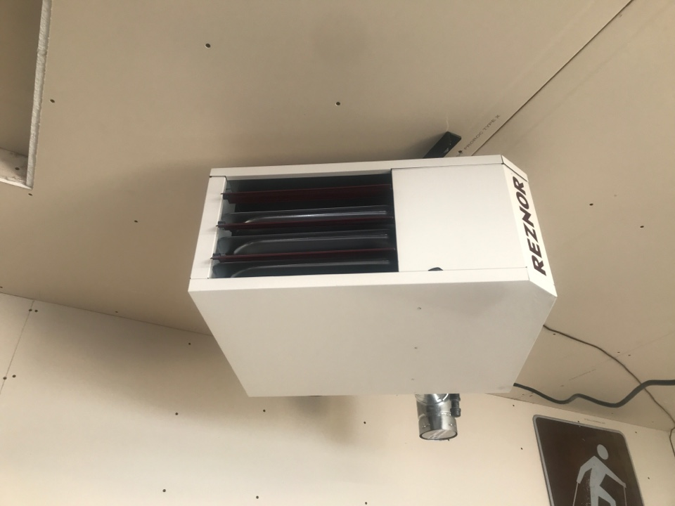 Becker, MN - Reznor garage furnace