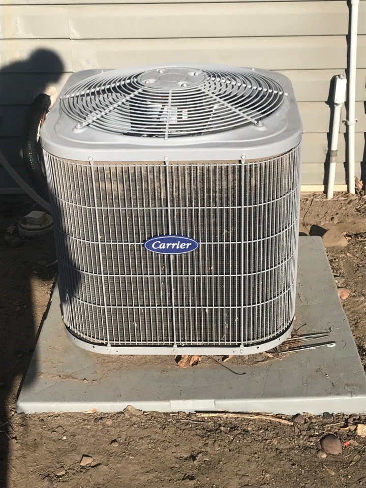 Elk River, MN - Carrier ac service call. Relocate the ac