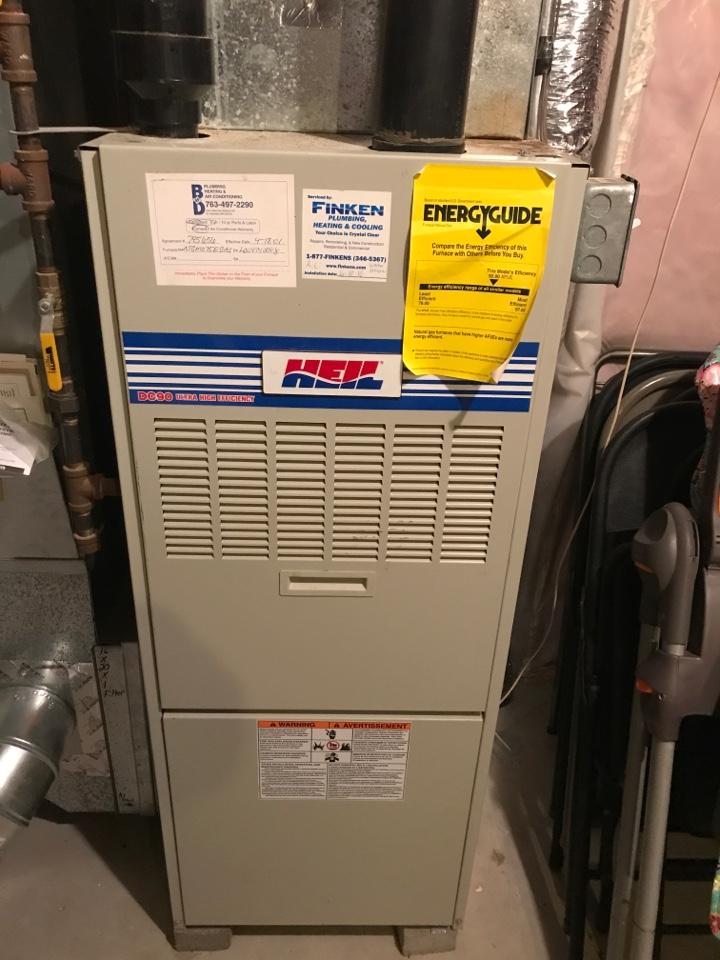 Becker, MN - Heil furnace service