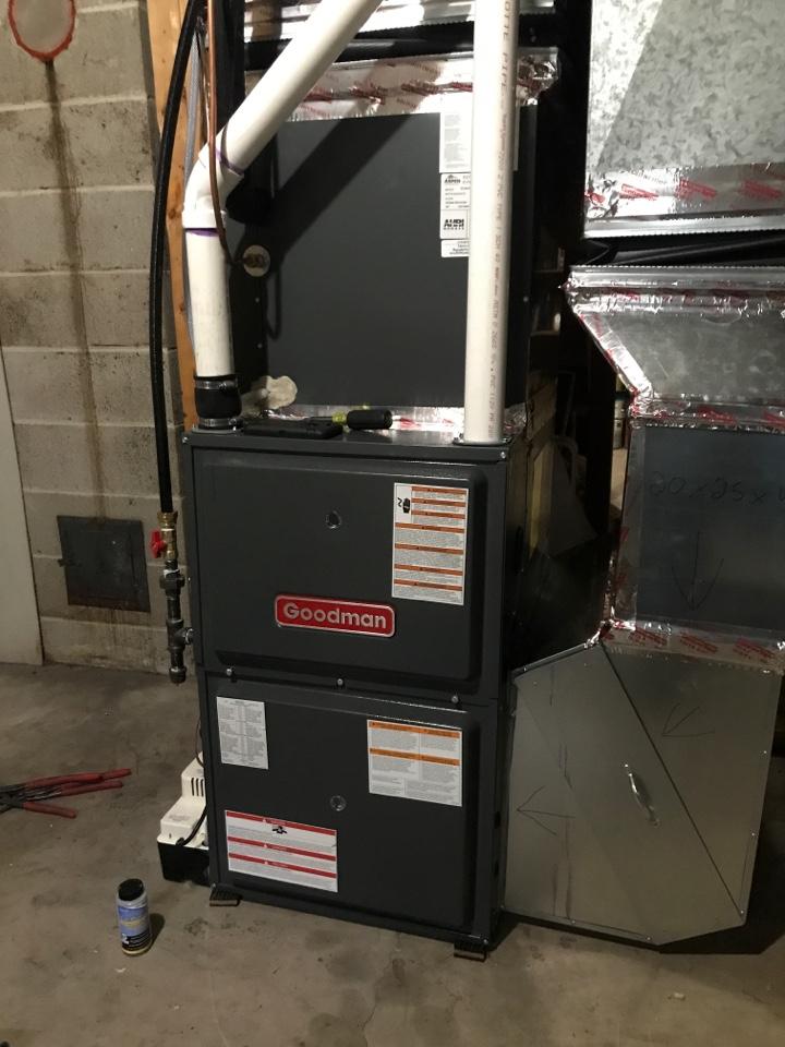Elk River, MN - Goodman furnace install