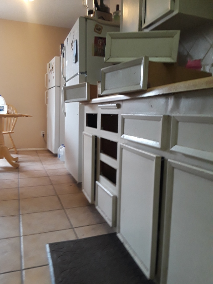 Repair eight (8) drawers, rebuild a toilet, and replace an angle stop and supply line in Las Vegas, NV.
