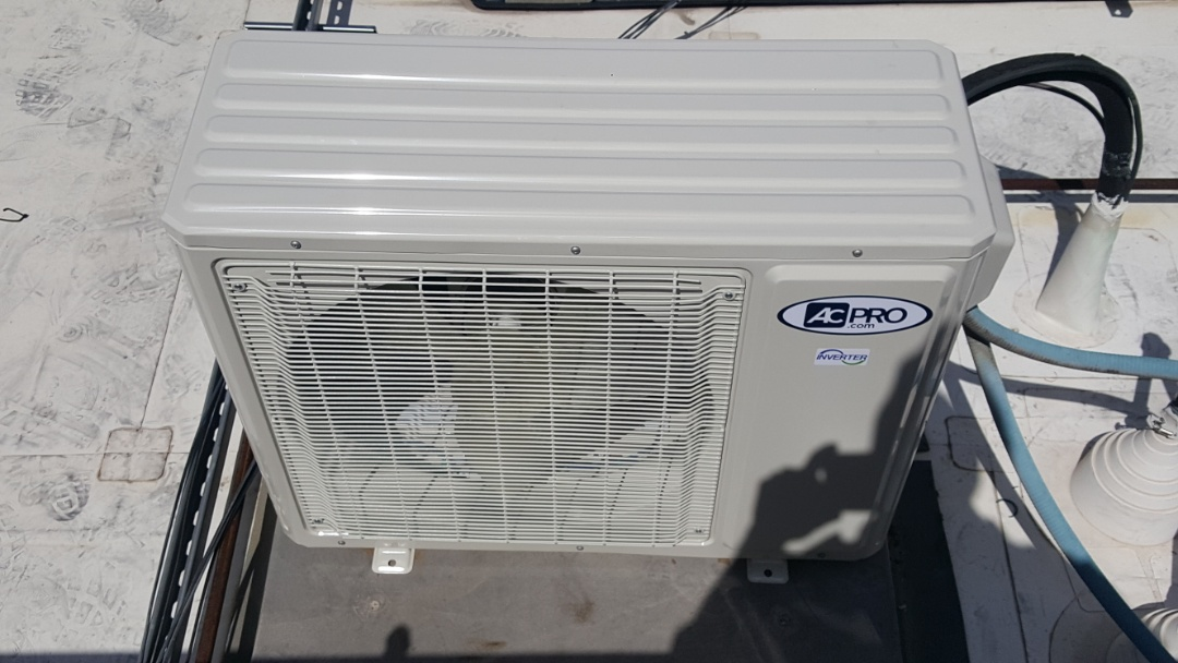 Las Vegas, NV - Working on repair to a rooftop ac unit for a commercial business in las vegas, las vegas ac las vegas hvac las vegas air conditioning las vegas handyman