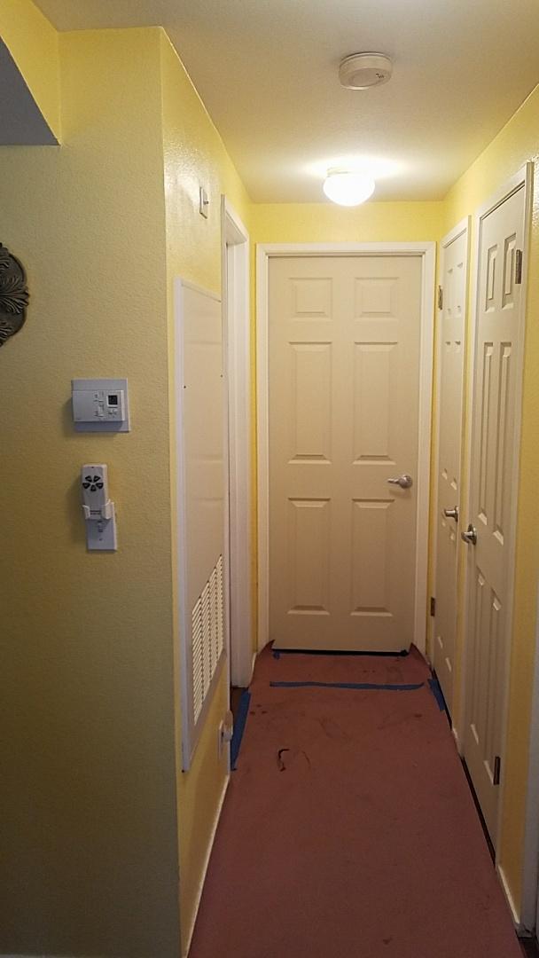 Las Vegas, NV - Installing new six panel interior doors throughout a residence