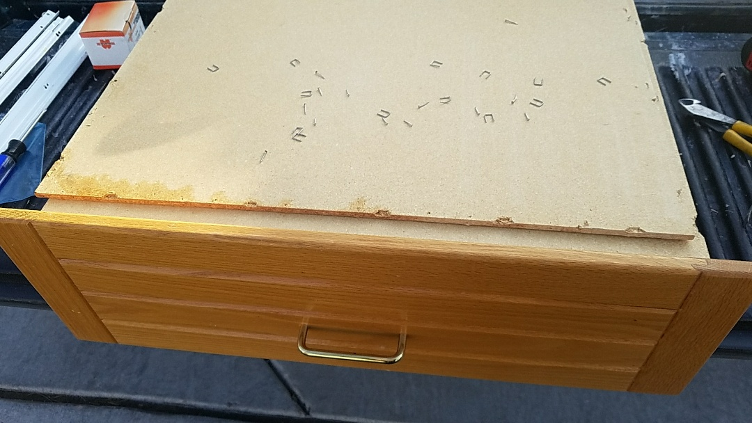 Las Vegas, NV - Rebuilding drawer boxes that have failed from prior repairs