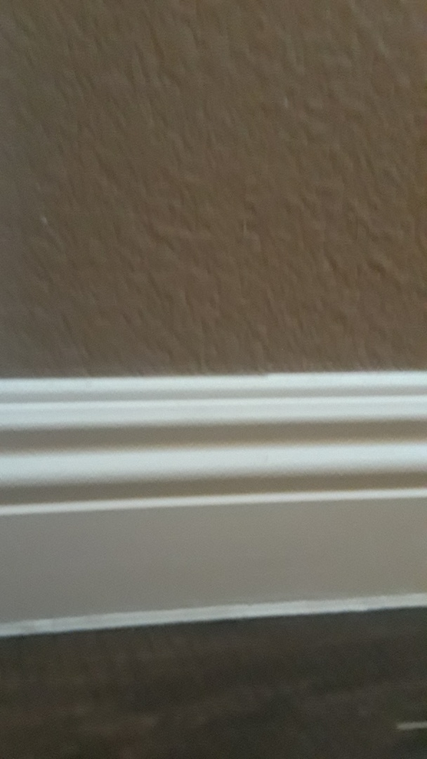 Completed new quote for removing existing baseboard and installing new baseboards. Las Vegas Handyman service.