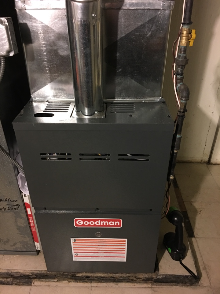 Lincolnwood, IL - Installing a Goodman 80% two stage variable speed furnace.