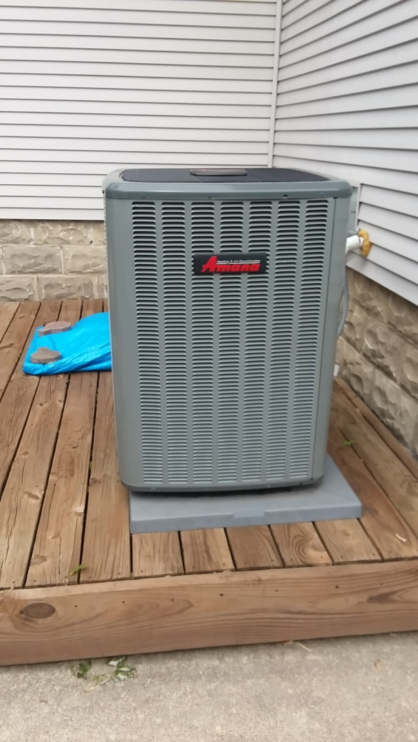 Palatine, IL - Clean and check Amana AC