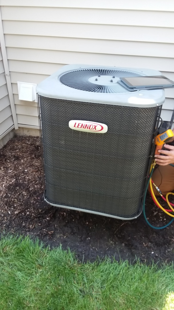 Hoffman Estates, IL - Clean and check Lennox ac