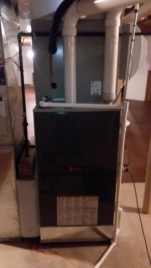Batavia, IL - Clean and check Trane furnace
