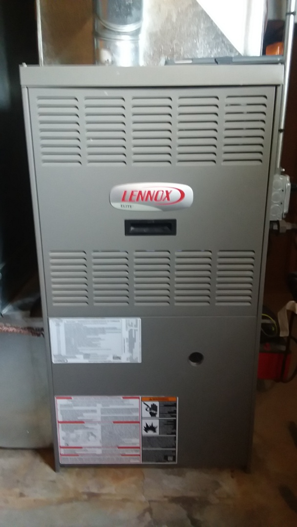 Arlington Heights, IL - Clean and check lennox furnace