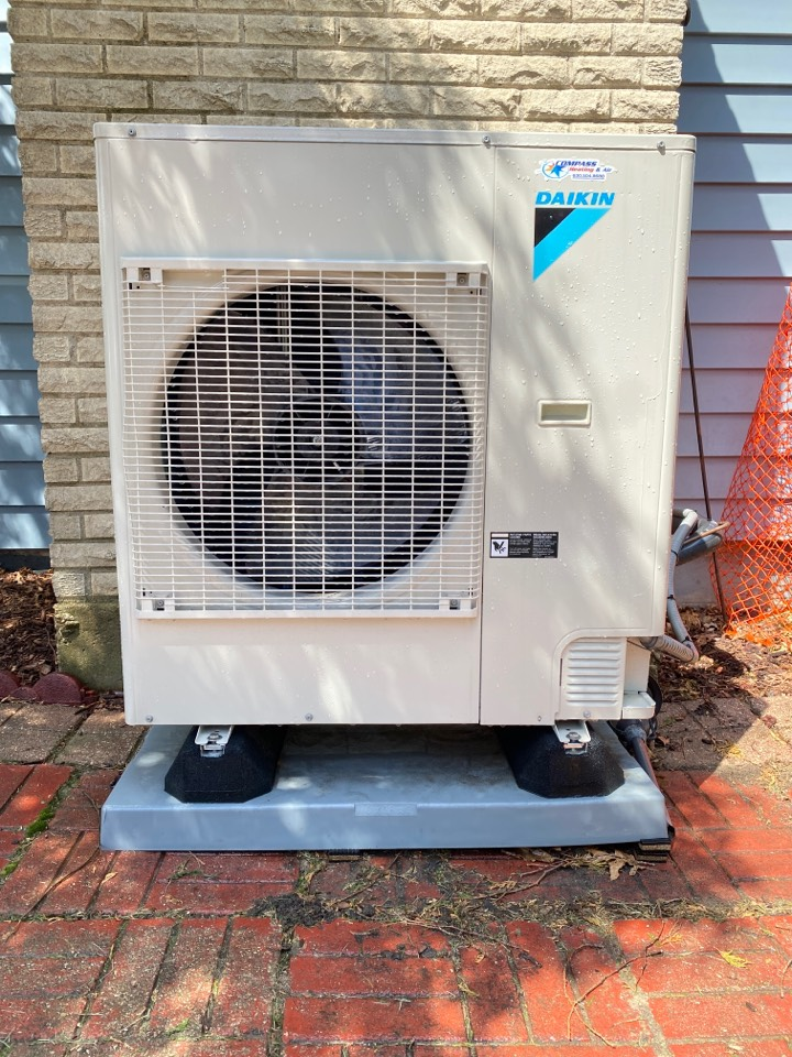 Bloomingdale, IL - Air conditioning clean and check on a Dakin unit