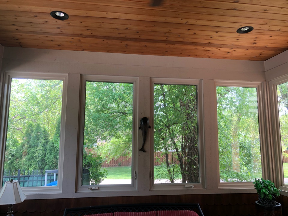 Arlington Heights, IL - Providing an estimate for a Mitsubishi ductless air conditioner in a sunroom, Arlington Heights, IL 60004