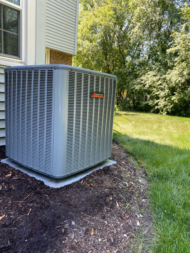 Air conditioning clean and check on an Amana unit!
