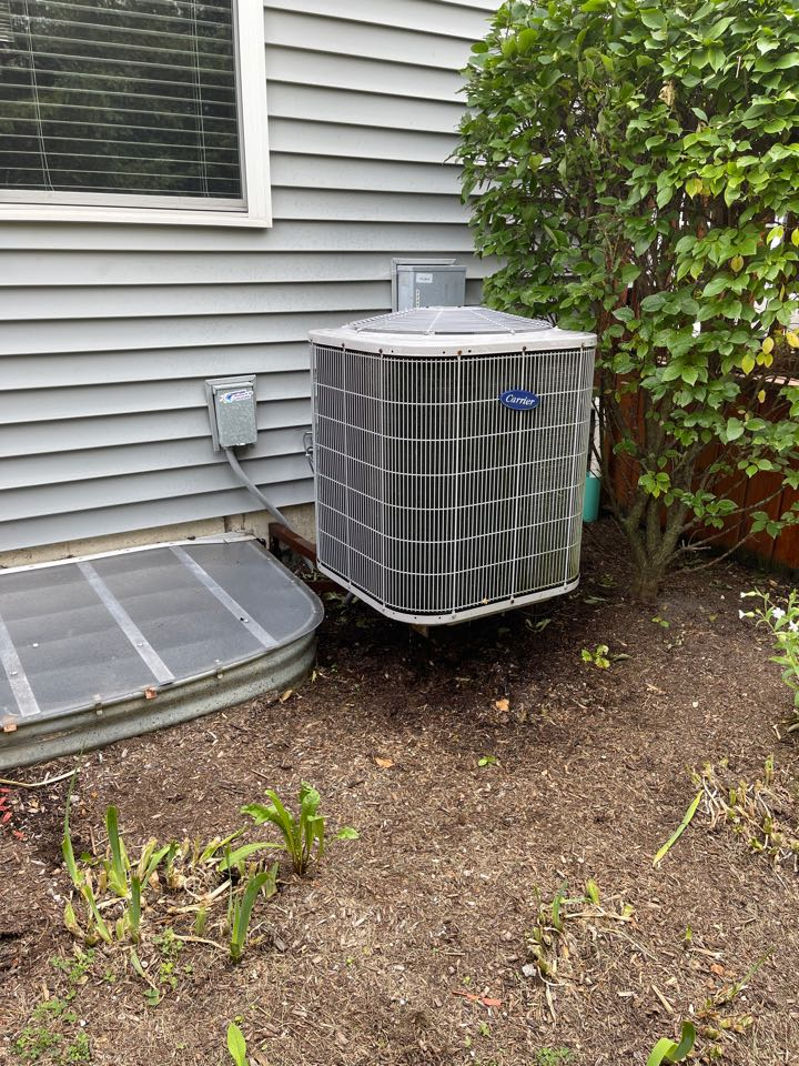 Carrier AC clean and check