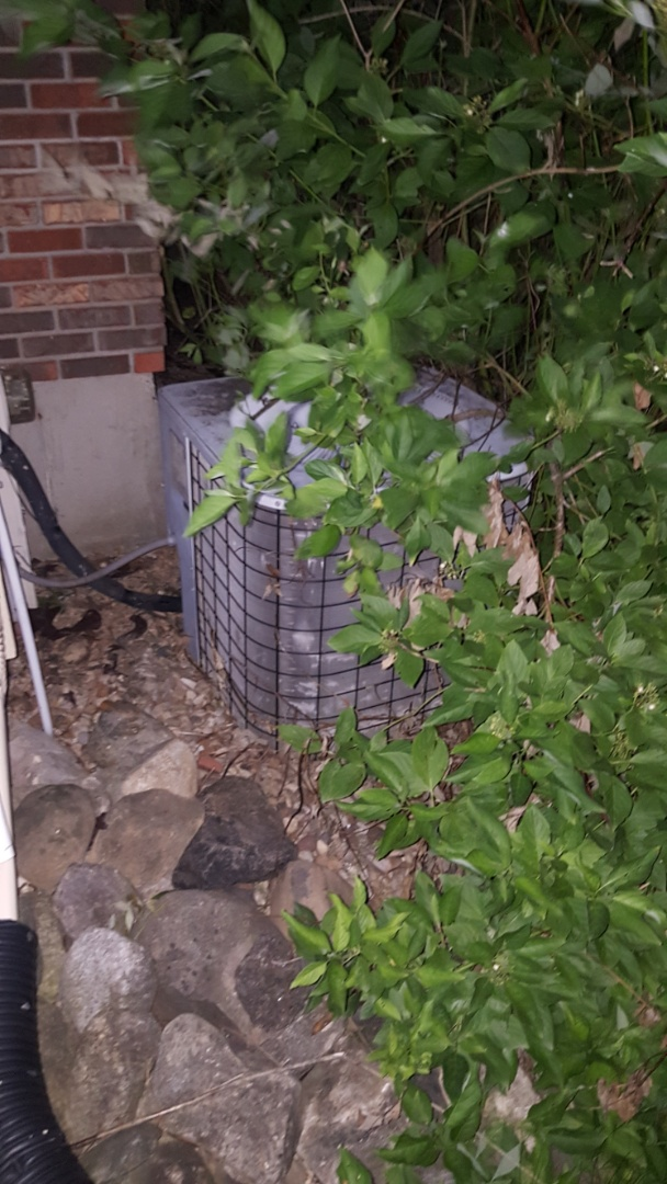 Algonquin, IL - Performing emergency A.C. repair service call on Fairway View, in Algonquin, IL 60102.