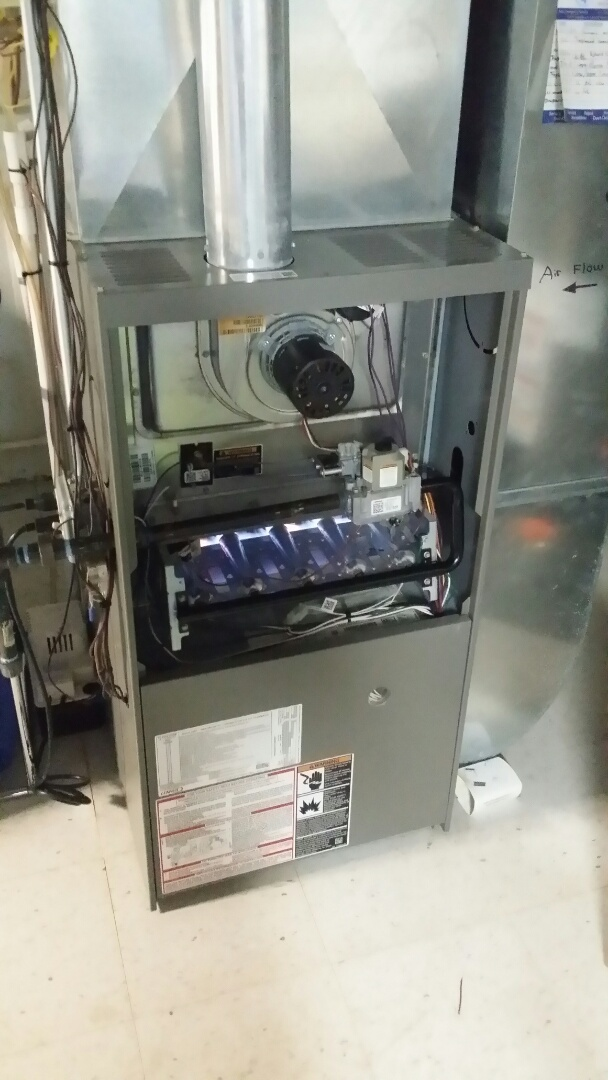 Arlington Heights, IL - Cleaning check Lennox furnace Arlington Heights