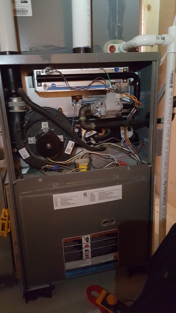 Carpentersville, IL - Performing annual maintenance for a new Compass Heating and Air customer in Carpentersville, IL