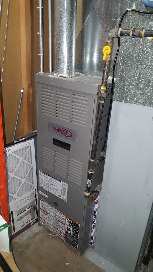 Barrington, IL - Emergency no heat repair on a Lennox G40 gas furnace,  in Carpentersville,  IL 60110