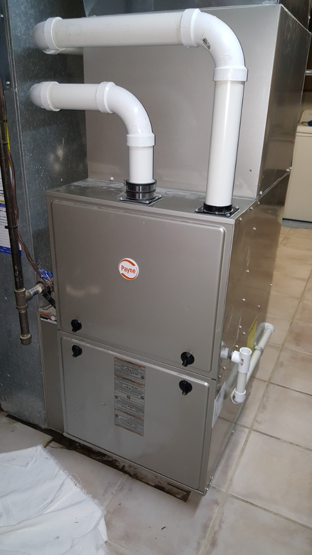 Wheaton, IL - Repairing a Payne/ Day & Night high efficiency gas furnace, in Bloomingdale, IL 60187.