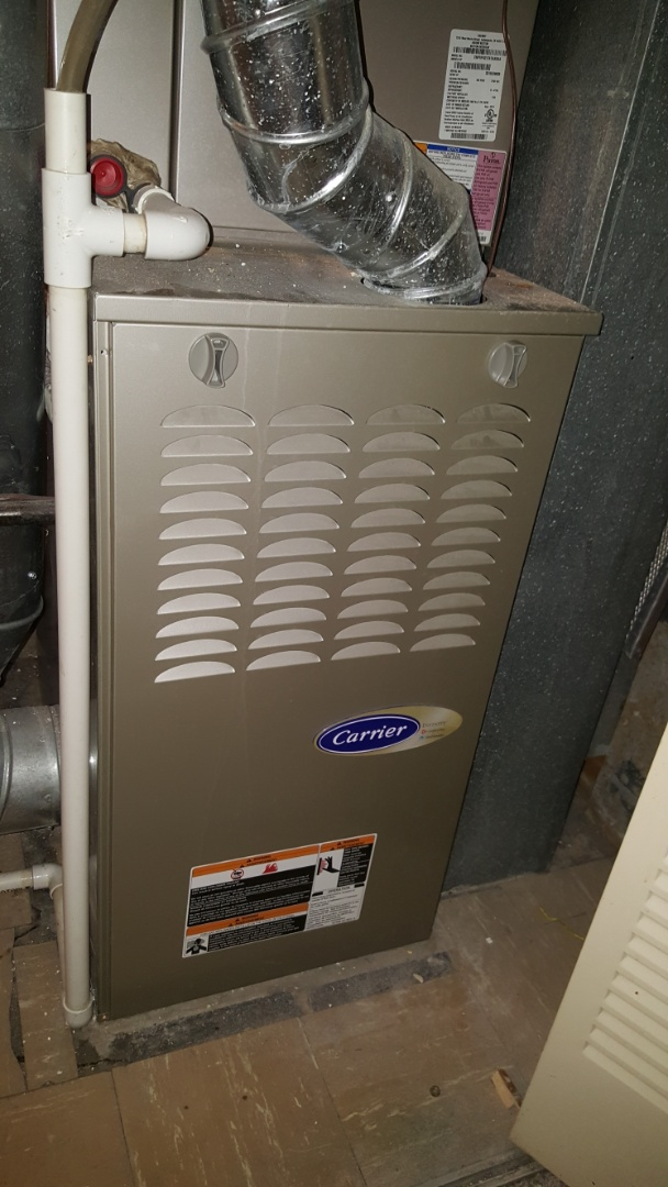 Schaumburg, IL - Repairing a Carrier Infinity 2- stage variable speed furnace in Schaumburg, IL 60193