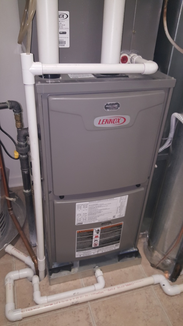 Huntley, IL - Diagnosing a Lennox ML193 natural gas furnace, which is mashing a grinding noise, in Huntley, IL 60142