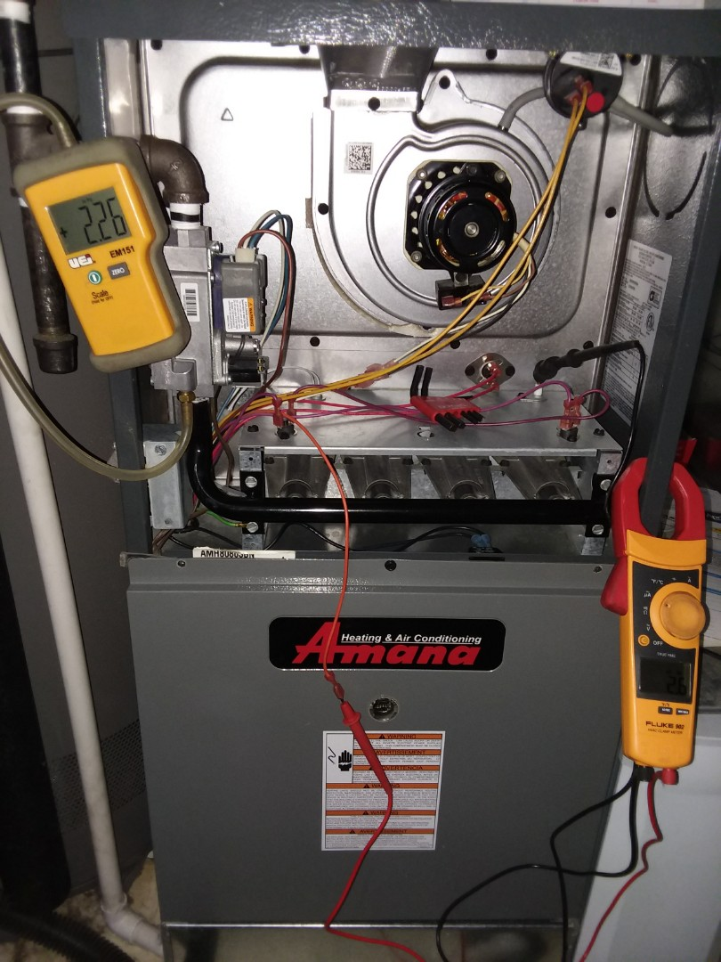Elgin, IL - Not heating home properly  Amana furnace  2 stage heat Elgin IL Compass Heating And Air