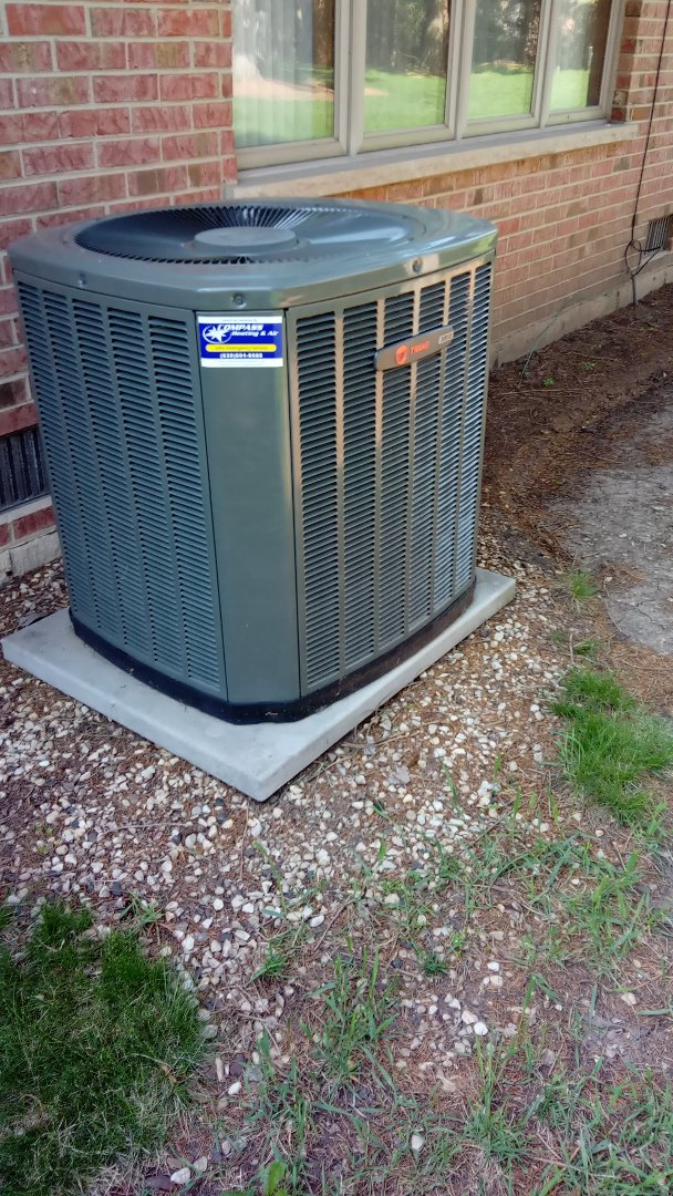 Bloomingdale, IL - Starting HVAC inspection for potential home buyers Bloomingdale IL  Compass Heating and Air Conditioning