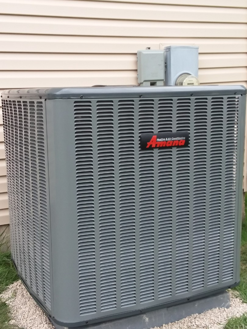 Geneva, IL - Installing a new 3ton 16 seer air conditioner for a family in Geneva to solve there cooling problems