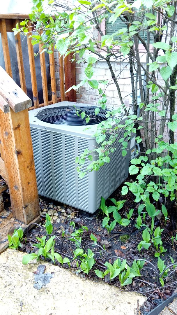 Rolling Meadows, IL - Starting manufacturer recommended annual maintenance on Rheem air conditioner, in the process of checking unit found that it turned into a diagnostic for no AC near Wooddfield Mall Rolling Meadows