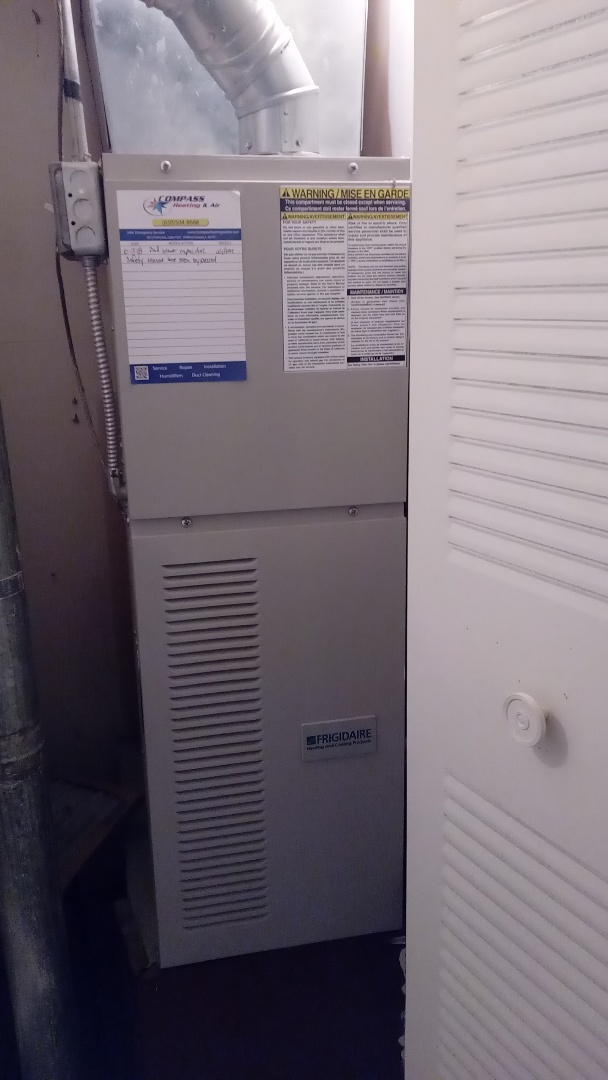 Hoffman Estates, IL - Starting diagnostic of burning smell inside home when air conditioner is running
