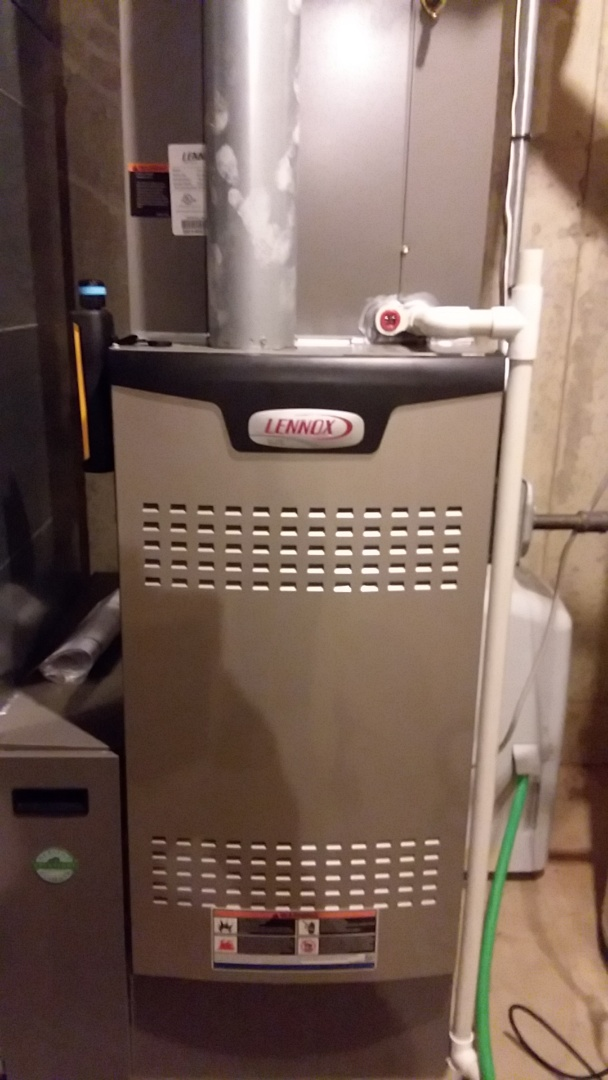Elgin, IL - Clean and check SL280 Lennox furnace