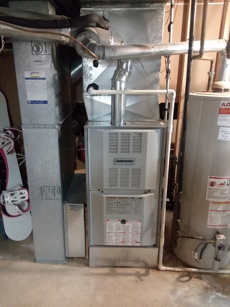 Deer Park, IL - Responding to a no heat call for a 12 year old Comfortmaker furnace