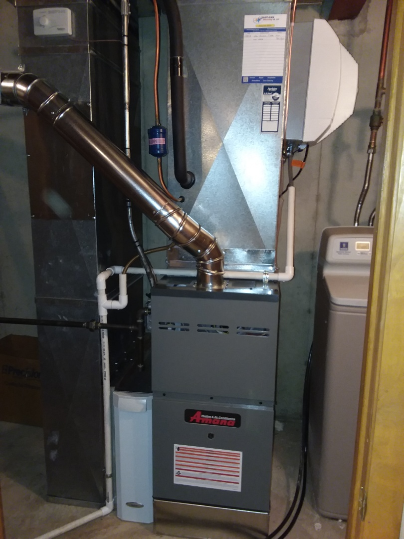 Cary, IL - Installed a new amana furnace.