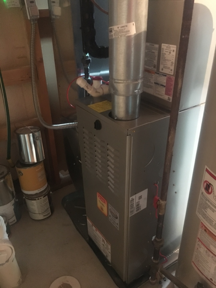 Bryant furnace and air conditioning installation