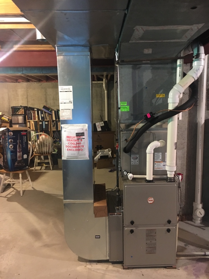 Wyoming, MI - Ductwork installation call.  Performed ductwork install  on return air drop