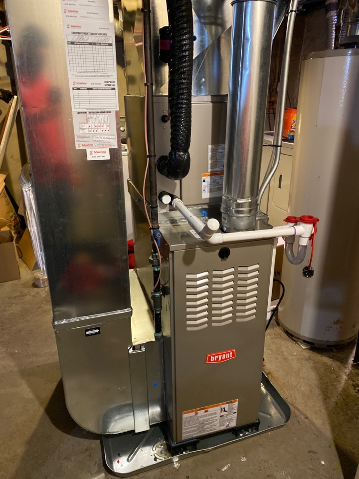 Wyoming, MI - Furnace and ac installation call.  Performed furnace and ac install on Bryant furnace and air conditioner
