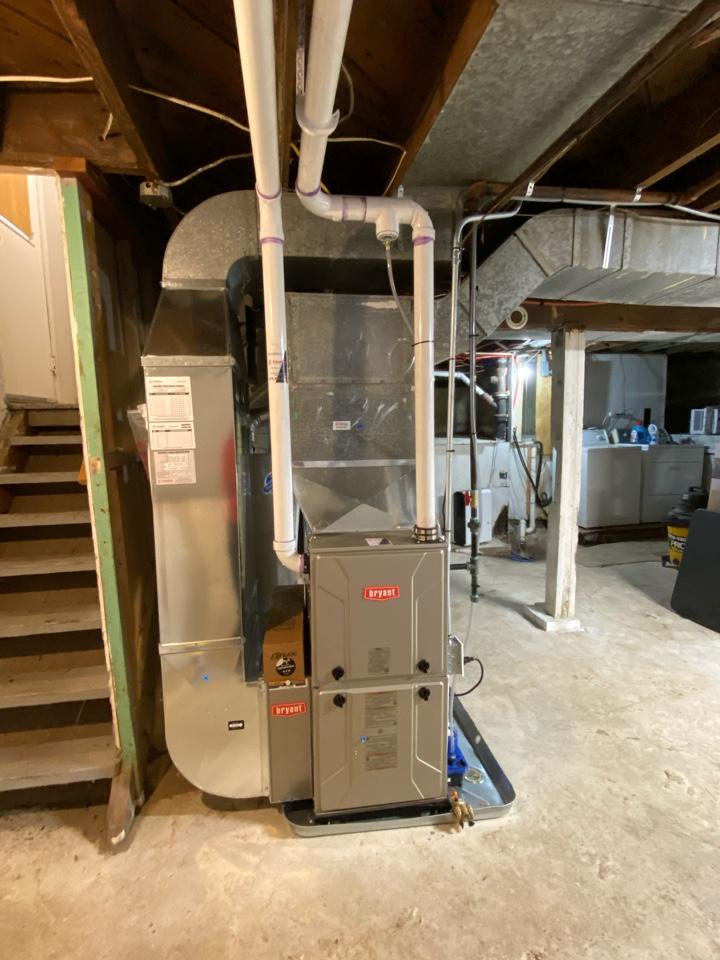 Grand Rapids, MI - Furnace, condensate pump, extend gas vent, etc.