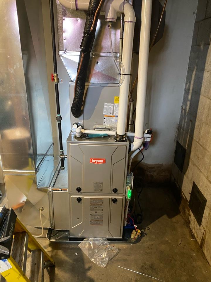 Rockford, MI - Furnace install