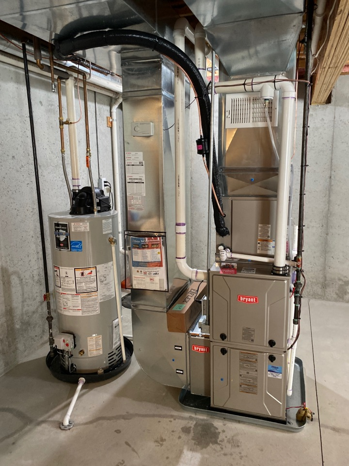 Georgetown Township, MI - Install new furnace plus AC plus new water heater and humidifier and thermostat