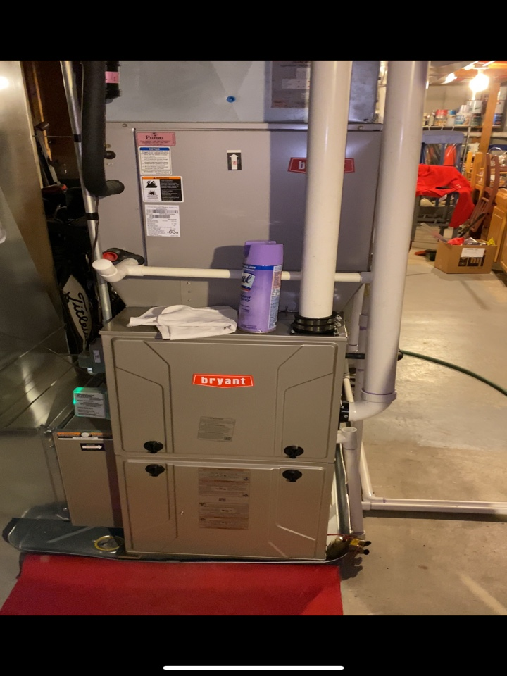East Grand Rapids, MI - Furnace install with iwave, surge protector, thermostat, and zone sensor