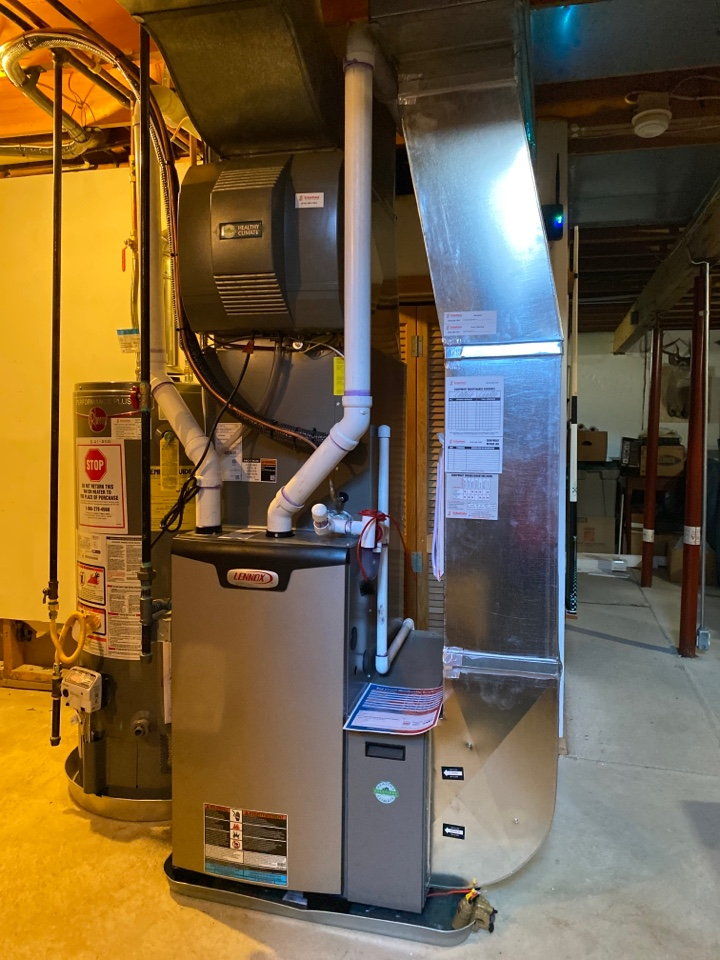 Wyoming, MI - Install new furnace plus a C plus drop plus humidifier a new thermostat