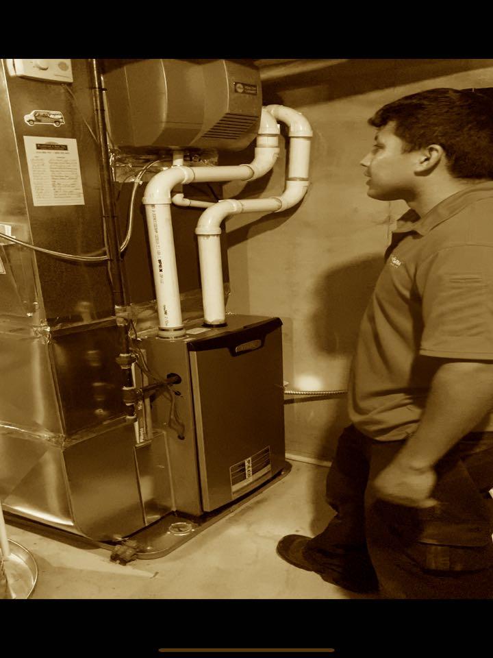 Rockford, MI - Furnace, condensate pump, and humidifier installation