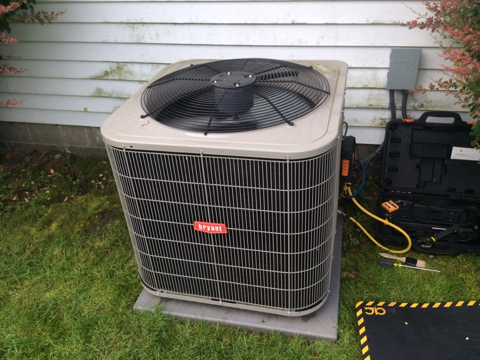 Belmont, MI - Tuned up Bryant air conditioner