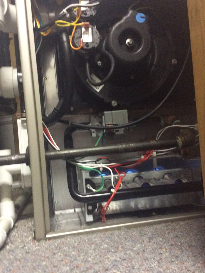 Belmont, MI - Replaced burners on Bryant furnace