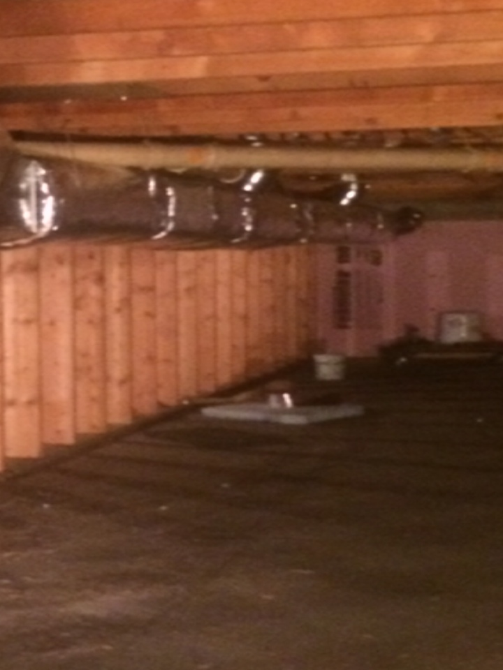 Sand Lake, MI - Installing new ductwork