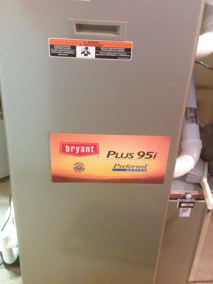 Alto, MI - Bryant furnace repair