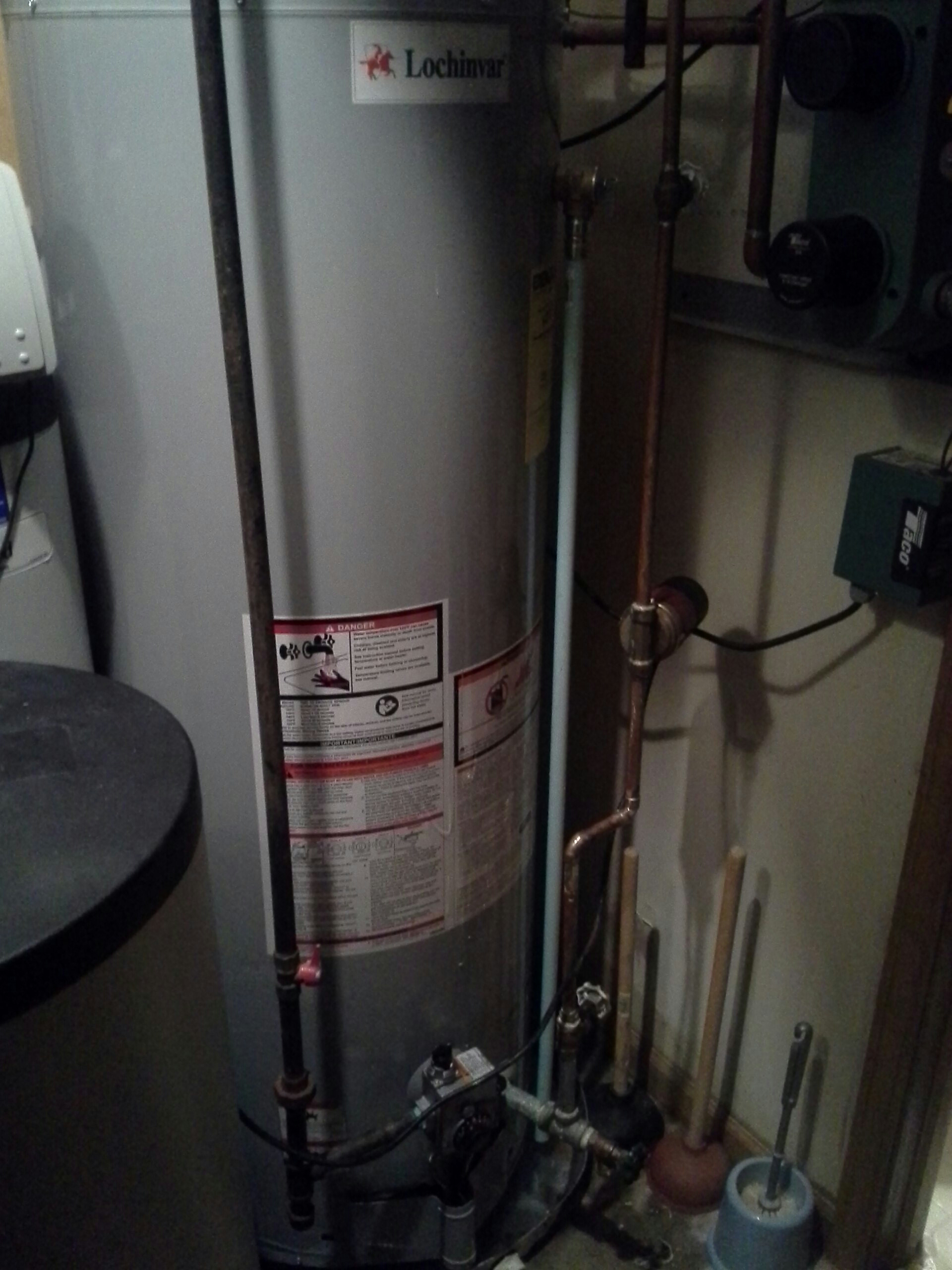 Grandville, MI - Water heater with in floor heater