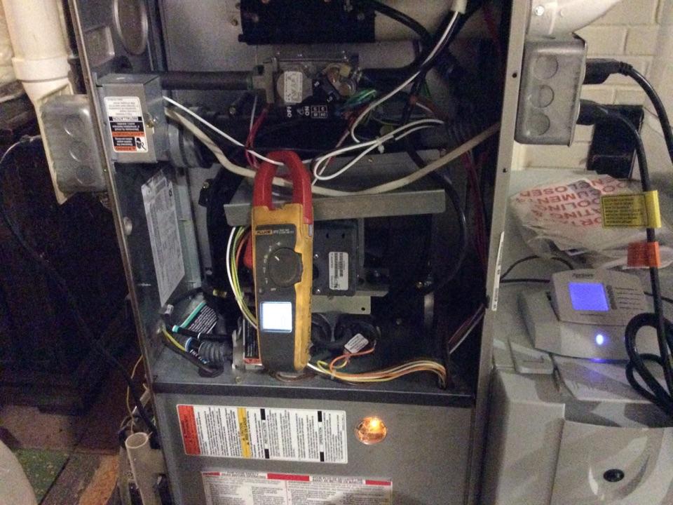 Hudsonville, MI - Cleaned condensation trap on Bryant furnace