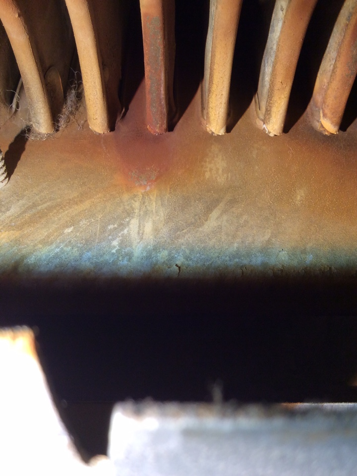 Coopersville, MI - Found bad secondary heat exchanger
