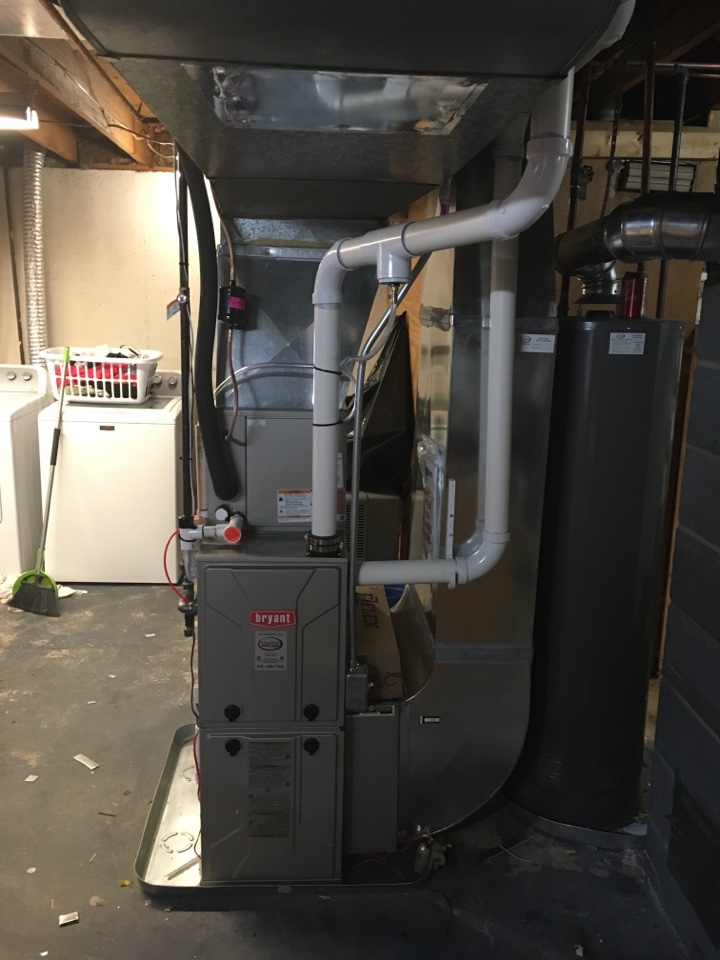 Grandville, MI - Furnace and a/c install